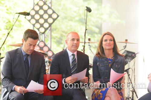 Carson Daily, Matt Lauer and Savannah Guthrie 3