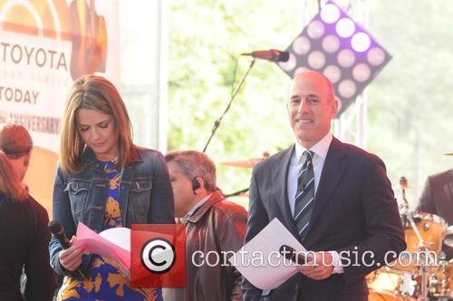 Matt Lauer and Savannah Guthrie 4