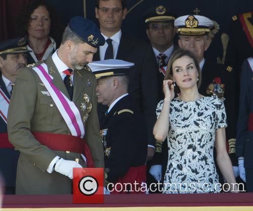 Guards, King Felipe Of Spain and Queen Letizia Of Spain 8