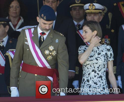 Guards, King Felipe Of Spain and Queen Letizia Of Spain 9