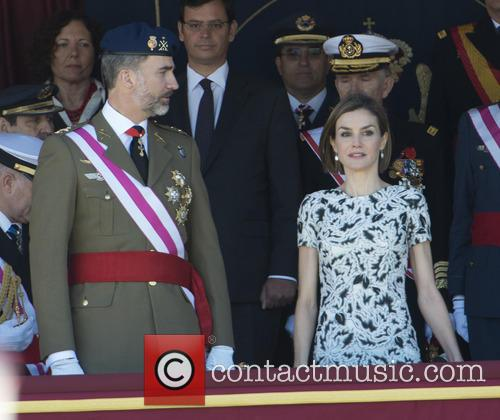Guards, King Felipe Of Spain and Queen Letizia Of Spain 10