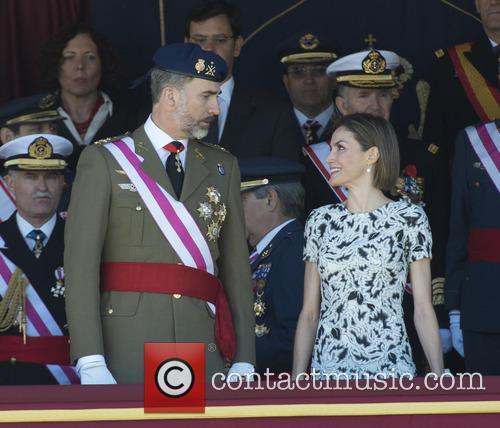 Guards, King Felipe Of Spain and Queen Letizia Of Spain 11