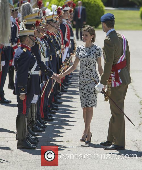 Spanish royals attend the Oath of Allegiance of...