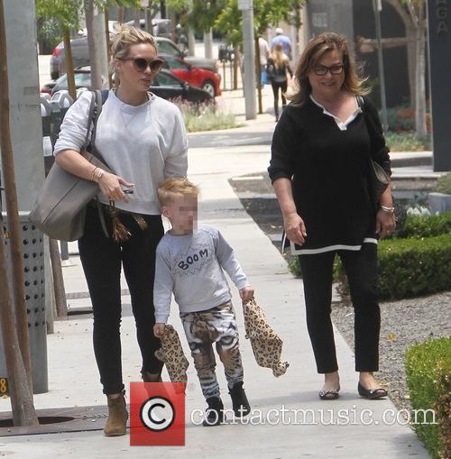 Hilary Duff and Luca Cruz Comrie 4