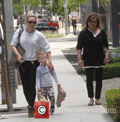 Hilary Duff and Luca Cruz Comrie 5