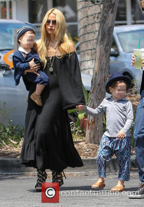 Rachel Zoe, Skyler Berman and Kaius Berman 2