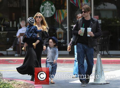 Rachel Zoe, Rodger Berman, Skyler Berman and Kaius Berman 6