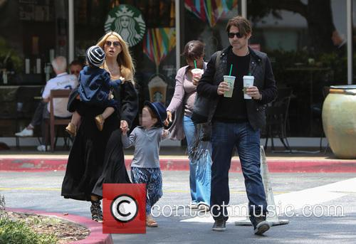 Rachel Zoe, Rodger Berman, Skyler Berman and Kaius Berman 7