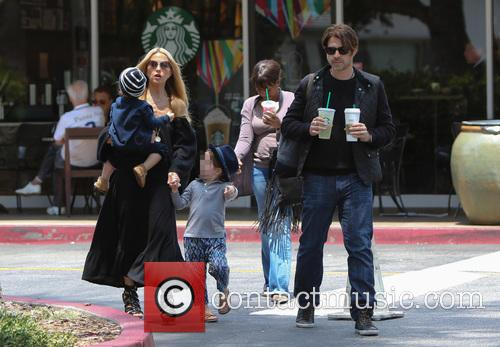 Rachel Zoe, Rodger Berman, Skyler Berman and Kaius Berman 8