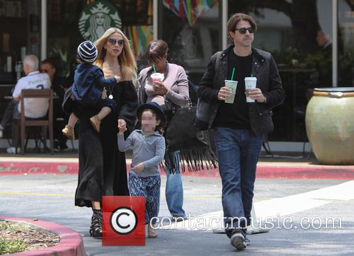 Rachel Zoe, Rodger Berman, Skyler Berman and Kaius Berman 9