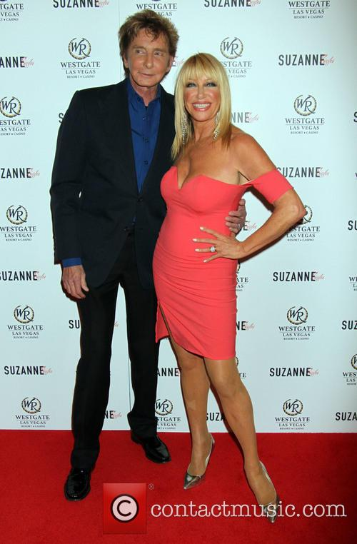 Barry Manilow and Suzanne Somers 2