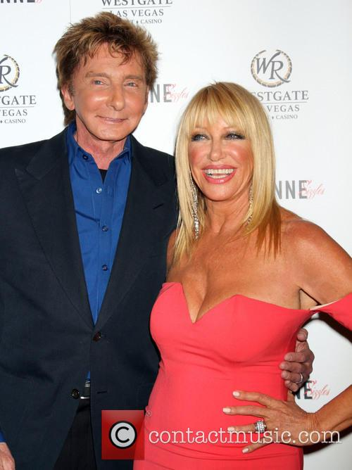 Barry Manilow and Suzanne Somers 3