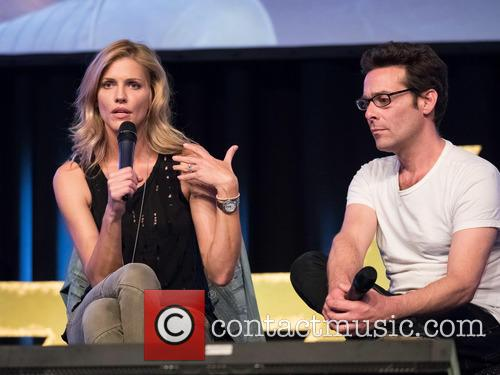 Tricia Helfer and James Callis 5
