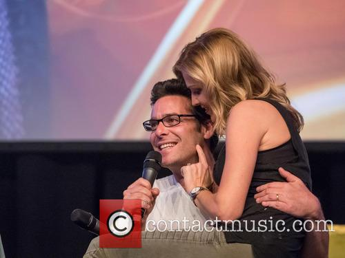 Tricia Helfer and James Callis 1