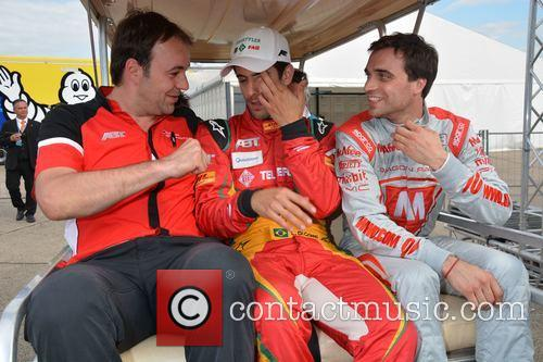 Thomas Biermaier, Lucas Di Grassi and Jerome D'ambrosio 3