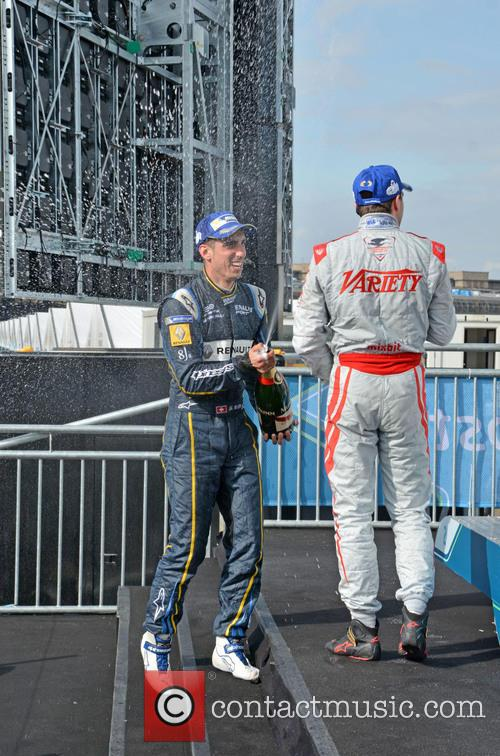 Sebastian Buemi and Jerome D'ambrosio 1