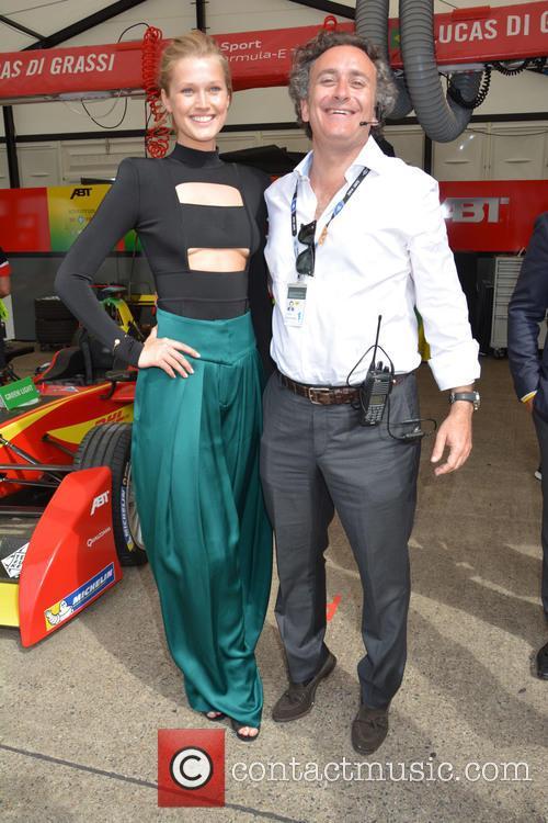Toni Garrn and Alejandro Agag 9