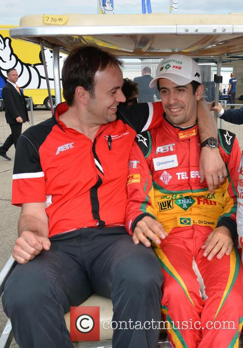 Thomas Biermaier and Lucas Di Grassi 4