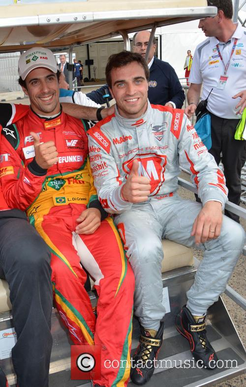 Lucas Di Grassi and Jerome D'ambrosio 9