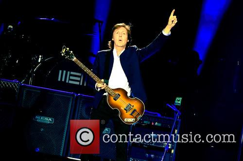 Sir Paul McCartney performs at London's O2 Arena