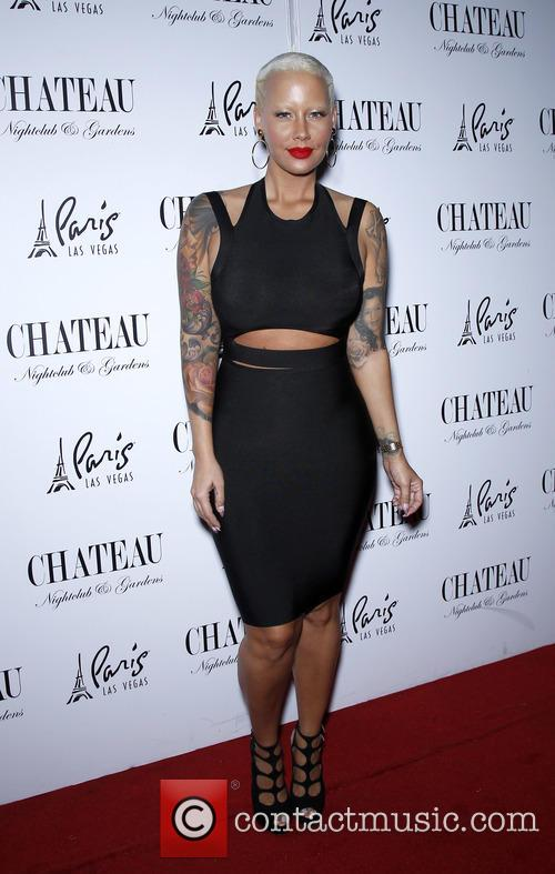 Amber Rose Host Memorial Day at Chateau Nightclub