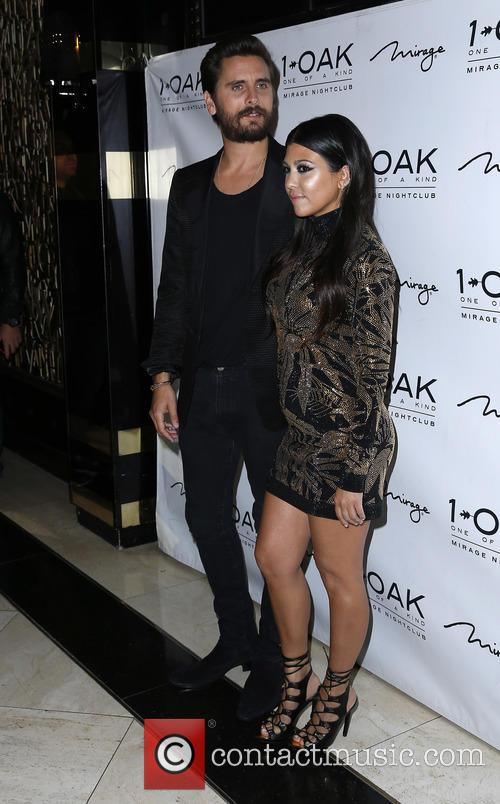 Scott Disick and Kourtney Kardashian 5