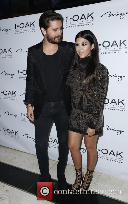 Scott Disick and Kourtney Kardashian 8