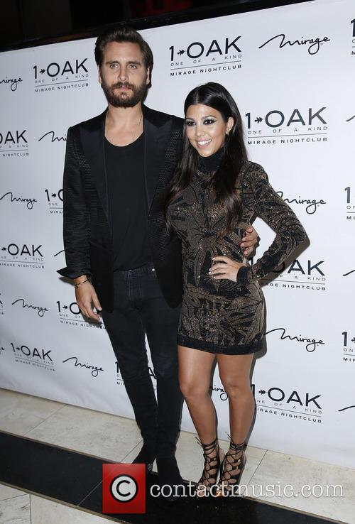 Scott Disick and Kourtney Kardashian 9