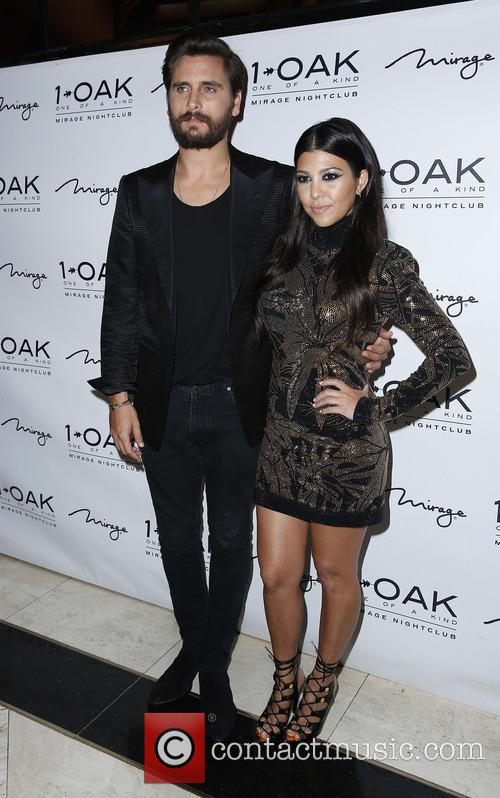 Scott Disick and Kourtney Kardashian 10