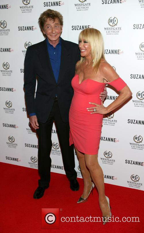 Barry Manilow and Suzanne Somers 5