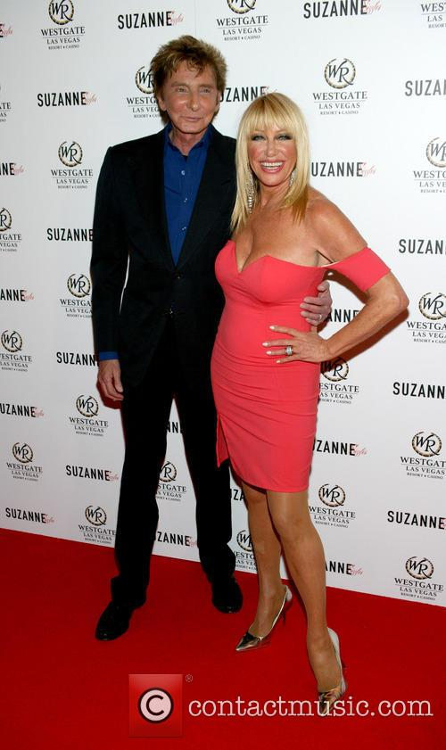 Barry Manilow and Suzanne Somers 1