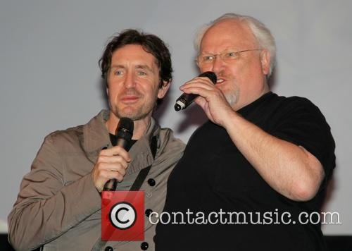 Paul Mcgann and Colin Baker