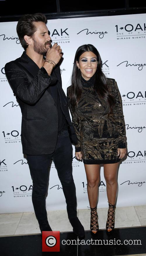 Scott Disick and Kourtney Kardashian 7