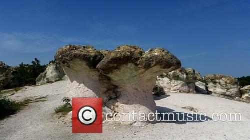 Bulgaria's Stone Mushroom Rock Formation 1