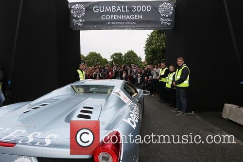 Gumball 3000 arrive in Copenhagen
