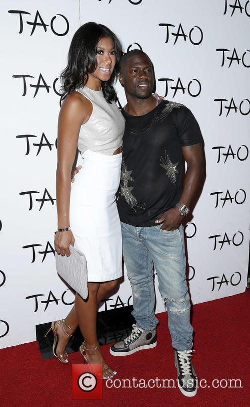 Aniko Parrish and Kevin Hart 2