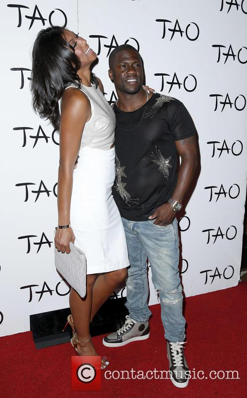 Aniko Parrish and Kevin Hart 3