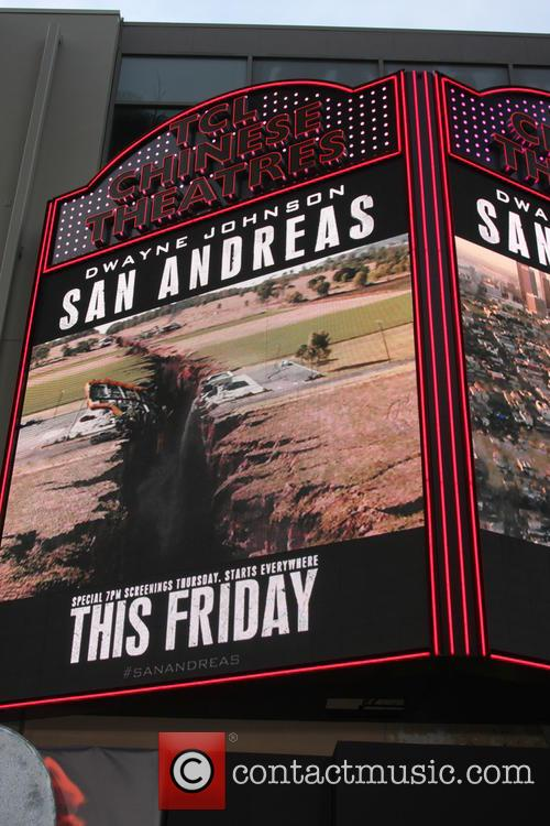 Tcl Chinese Theater Marquee For San Andreas 2