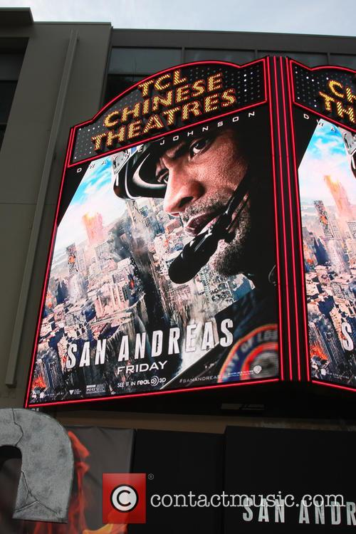 Tcl Chinese Theater Marquee For San Andreas 1