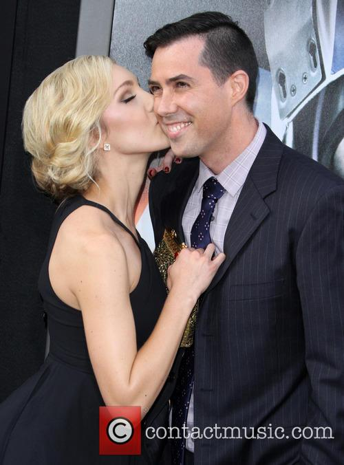 Breanne Hill and Director Brad Peyton 4