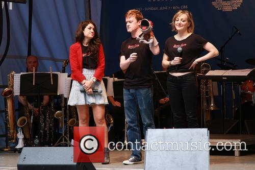 Sarah Stiles, Steven Boyer, Tyrone and Geneva Carr 1