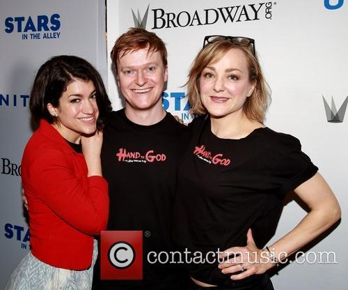 Sarah Stiles, Steven Boyer and Geneva Carr 2