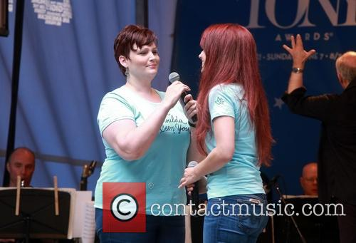 Lisa Howard and Sierra Boggess