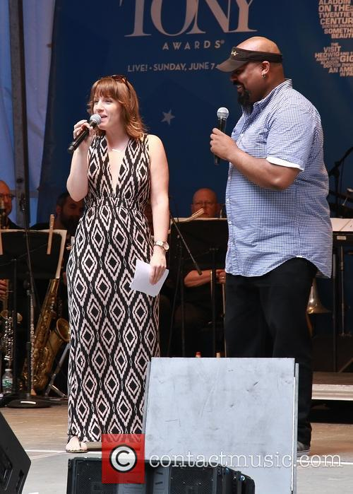 Jessie Mueller and James Monroe Iglehart 2