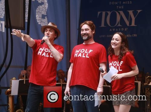 Ben Miles, Nathaniel Parker and Lydia Leonard