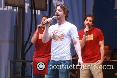 Christian Borle and Cast Of Something Rotten 2