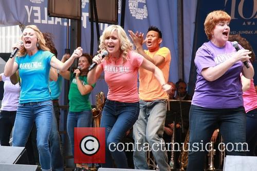 Alison Ewing, Judy Mclane, Mary Callanan and Cast Of Mamma Mia 7