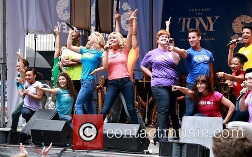 Alison Ewing, Judy Mclane, Mary Callanan and Cast Of Mamma Mia 8