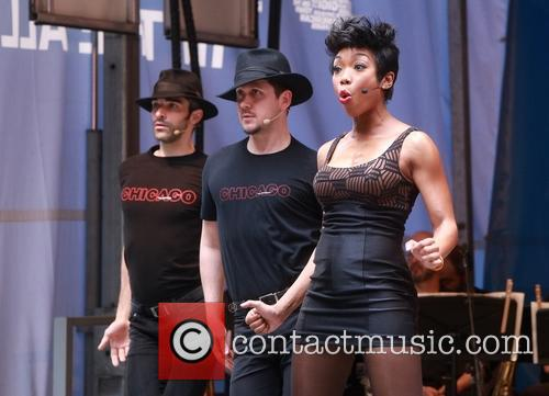 Cast Of Chicago and Brandy Norwood 3