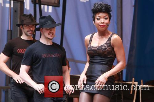 Cast Of Chicago and Brandy Norwood 1